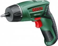 Аккумуляторный шуруповерт Bosch PSR 7,2 LI 0.603.957.720