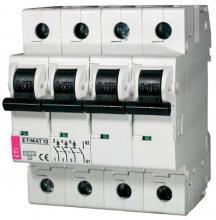 Автоматический выключатель ETIMAT 10 B63A 3P+N арт. 2126722