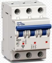 Автоматический выключатель OptiDin BM63-3Z8 Z8A 3P арт. 114351.
