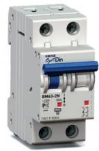 Автоматический выключатель OptiDin BM63-2NZ1 Z1A 1P+N арт. 112978