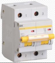 Автоматический выключатель ВА47-100 D100A 2P арт. MVA40-2-100-D