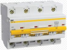 Автоматический выключатель ВА47-100 C40A 4P арт. MVA40-4-040-C