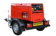 Сварочный генератор дизельный - SHINDAIWA DGW400DMK/RU