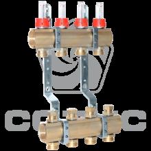 Коллекторная группа с расходомерами и регулир. клапанами СОТИС КГ04.0-50-2512-20НР
