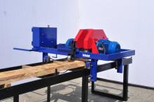 Кромкообрезной станок двупильный КЕДР 11 кВт