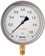 Манометр повышенной точности Юмас МП160Н-0.6
