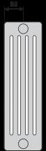 PURMO F90 1 5045 24