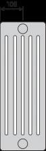 PURMO F90 1 6055 23
