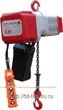 Электроталь цепная с верхним крюком Lema LMT EC-050.