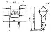 Таль электрическая ТЭ025-2110-000