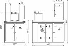 Комплектная подстанция КТП-ПВ(К)-100/10(6)/0,4-У1. Фото