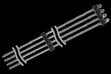 Четырехэлектродный кондуктометрический датчик уровня ОВЕН ДУ.4