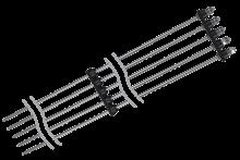 Пятиэлектродный кондуктометрический датчик уровня ОВЕН ДУ.5