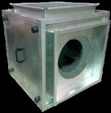 Канальные каркасные вентиляторы «кухонные» КУБ-1КВ-Н-67-67КХ-02-4-3   71В4